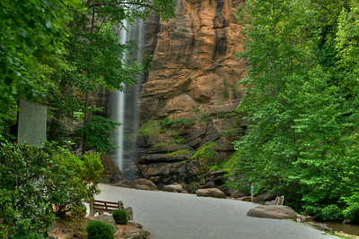 Toccoa Falls on the campus of Toccoa Falls College in Toccoa Falls, GA on Monday, June 12, 2017. Copyright 2017 Jason Barnette