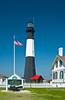 The historic Tybee Island Lightstation, Georgia, USA, America.