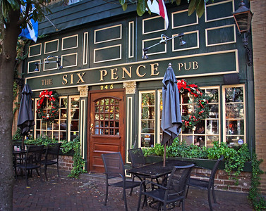 "Six Pence Pub featured in the Julia Roberts movie ""Something to Talk About"" Savannah, GA 12/2012"