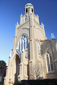 Congregation Mickve Israel Sinagogue founded 1733 Monterey Square Savannah, GA  12/2012