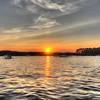 Sunset over Allatoona