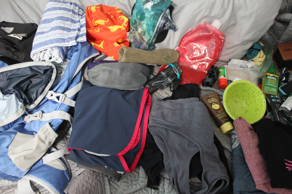 Items to pack for Cumberland Island