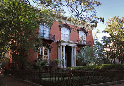 The Mercer Williams House Monterey Square Savannah, GA 12/2012