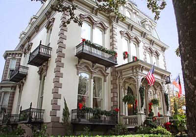 Hamilton Turner Inn Lafayette Square Savannah, GA  12/2012
