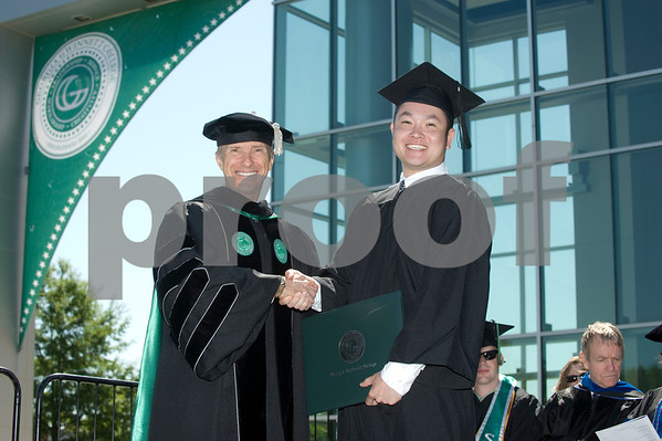 GGC Graduates with Dr.Kaufman