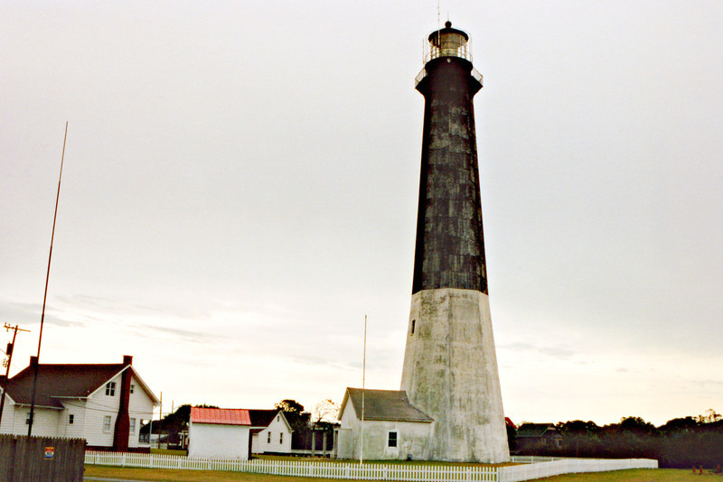 The Georgia Assembly authorized the building of a third tower in 1768.  Built on a site far from the shoreline, the 100 foot brick tower was completed in 1773 and exhibited a light using spermaceti candles.  After the Revolutionary War the state of Georgia ceded the Tybee Island Lighthouse to the newly formed Federal government in 1790.
