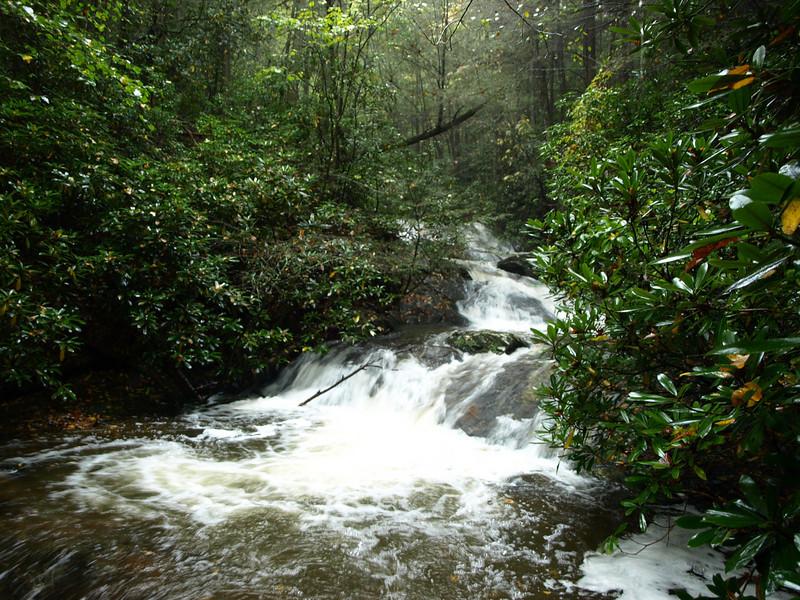 Waterfall near Raven's Cliff Falls
