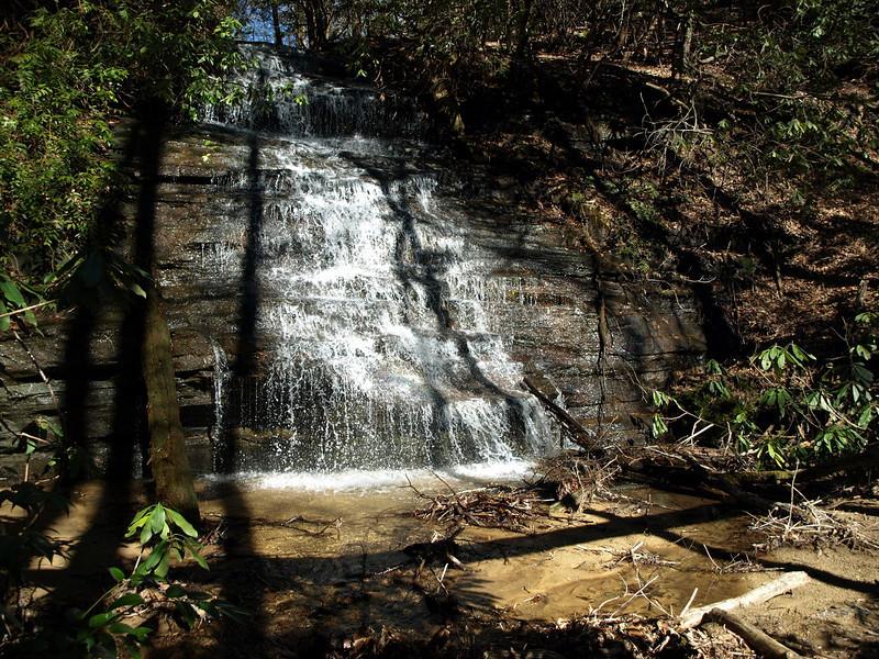 Waterfall near Angel Falls/Panther Falls
