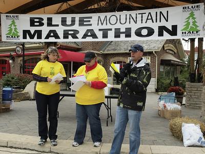 Blue Mountain Half Marathon & EN Cheque Presentation 015