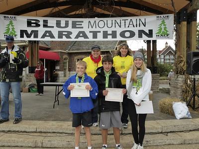 Blue Mountain Half Marathon & EN Cheque Presentation 022
