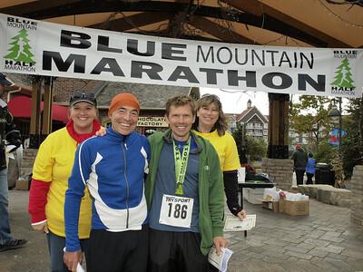 Blue Mountain Half Marathon & EN Cheque Presentation 027