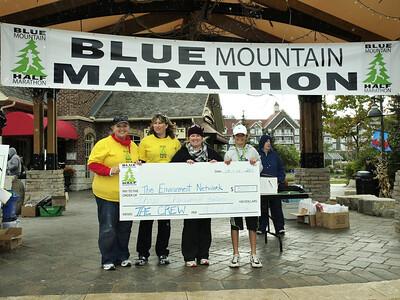 Blue Mountain Half Marathon & EN Cheque Presentation 029