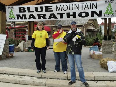Blue Mountain Half Marathon & EN Cheque Presentation 013