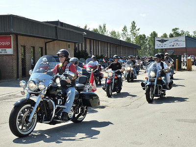 4th Annual Riders with a Message for Wounded Warriors 04