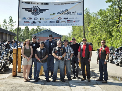 4th Annual Riders with a Message for Wounded Warriors 01