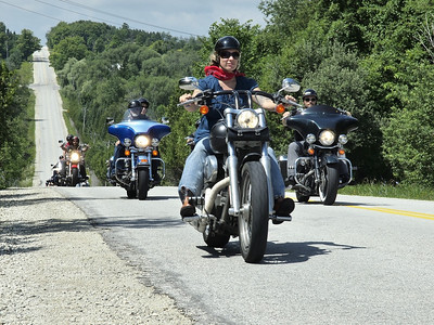 4th Annual Riders with a Message for Wounded Warriors 12