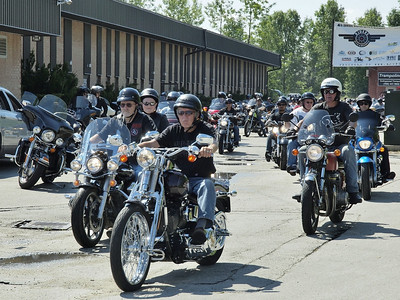 4th Annual Riders with a Message for Wounded Warriors 05