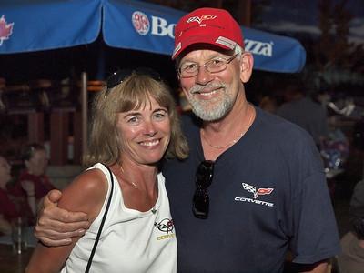 Wasaga Beach Corvette Club Party at Boston Pizza 025