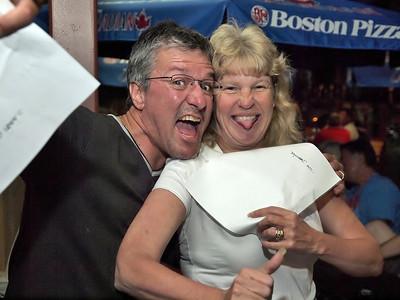Wasaga Beach Corvette Club Party at Boston Pizza 027