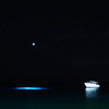 Night diving in Bonaire