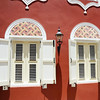 Restored colonial building in Otrobanda, Curaçao
