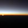 Sinking sun over central Brazil