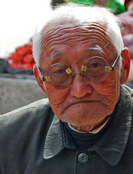 Age and wisdom, rural China