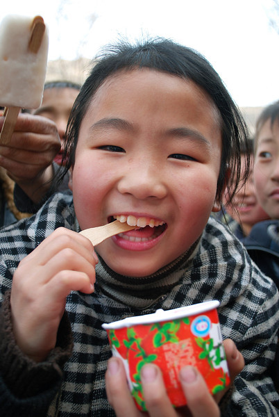 Sunday afternoon treat in Shanxi province, China