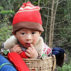 Basket case in small village in Sichuan, China