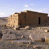 Qasr al Sagha temple in the desert north of Fayum, Egypt