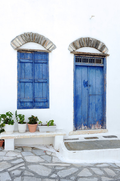 Village house on Tinos island, Greece