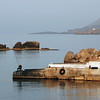 Small port of Chora Sfakion in southern Crete, Greece