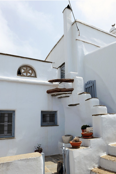 Part of the Kechrovouni monastery on Tinos, Greece