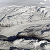 Eqalorutsit glacier entering the northern end of the Nordre Sermilik fjord in southwest Greenland