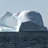 Large icebergs floating in Baffin Bay, west Greenland