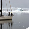 Perilous voyage through ice-infested coastal waters in west Greenland