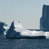 'Dry-dock' type of iceberg near Disko island, west Greenland