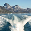 Coastal journey in west Greenland