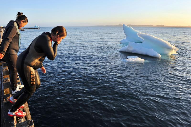 Summer fun in Greenland