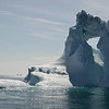 Large iceberg melting in mid-summer, Greenland