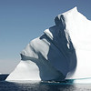Sculpted iceberg in western Greenland