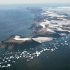 Short glaciers on Cape York in northwest Greenland (75º North)