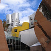 Frank Gehry designed building, MIT campus in Boston