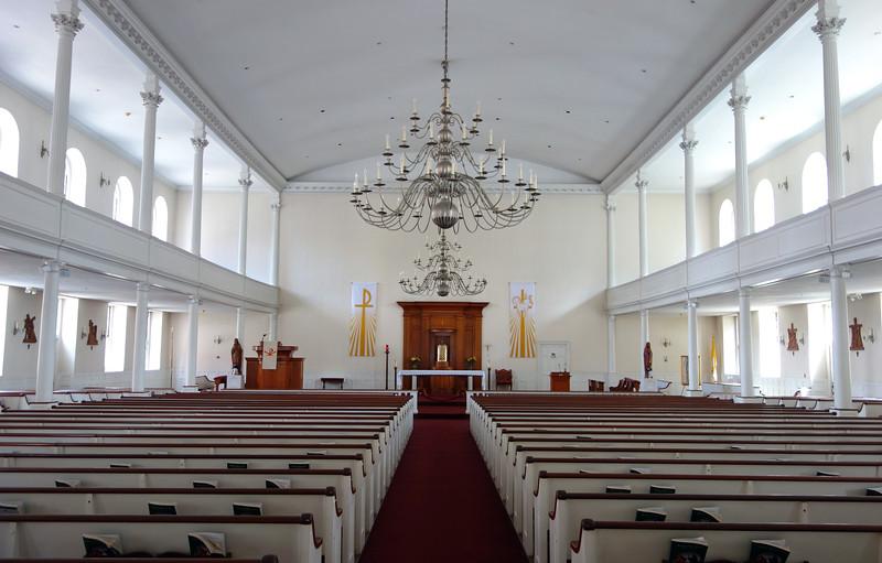 St. Stephen's catholic church (anno 1804) in Boston, USA