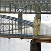 Solitude for the steely runner in Pittsburgh, Pennsylvania