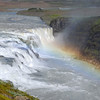 Gullfoss waterfall in southwest Iceland