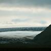 Ground fog on the flank of the Skeiðarárjökull glacier, Iceland