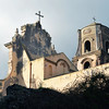 Cathedral of San Bartholomew on Lipari island, italy