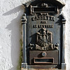 Traditional mail box on Capri, Italy