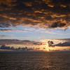 Sunset over the Tyrrhenian Sea, Italy